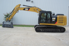 CAT320E Brushcutter Kit
